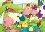 children\'s book illustration farm animals