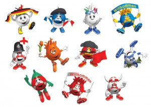 Children's-illustrations-EURO-2012-stickers